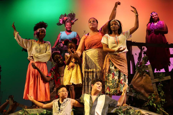 Photos: ONCE ON THIS ISLAND in Loving Color