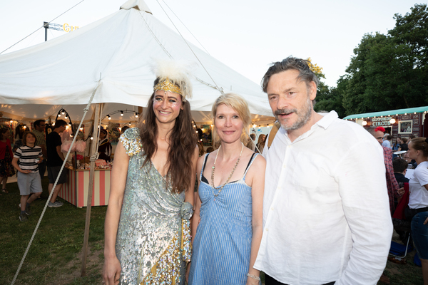 Nancy Trotter Landry, Julia Davis and Julian Barratt
