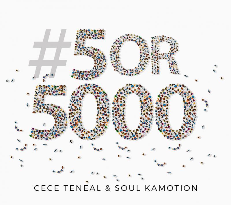 CeCe Teneal & Soul Kamotion Release New CD, #5or5000