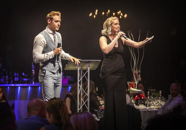 Jonny Fines and Emma Williams