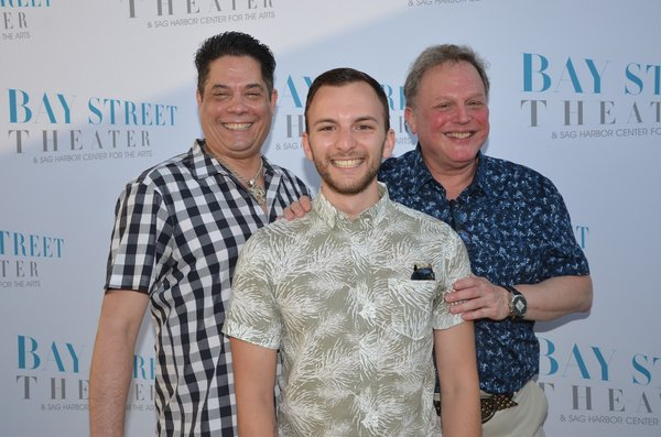 Doug Petrie, Brian Williams, Bruce T Sloane. Photo by Barry Gordin  Photo