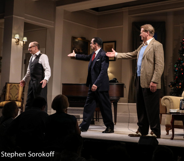 Phillip Hoffman, David Garrison, David Rasche Photo