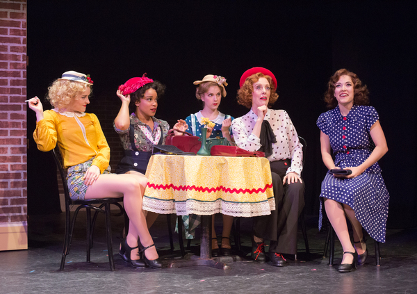 Daisy Wright, Monette McKay, Brianna Marie Latrash, Ruth Gottschall and Tessa Grady