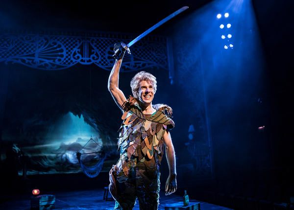 Peter Pan (Johnny Shea) is the boy who never wants to grow up in Peter Pan – A Photo