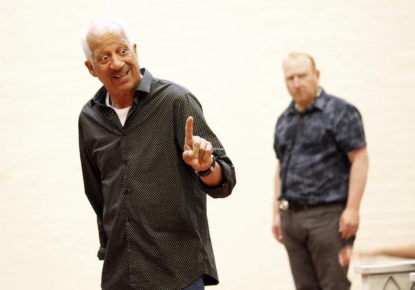 Derek Griffiths and Adrian Scarborough