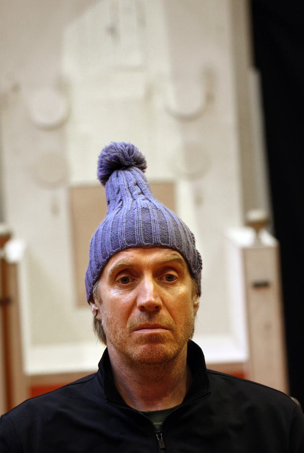 Photo Flash: Rhys Ifans, Patrick Marber and the Cast of EXIT THE KING In Rehearsal