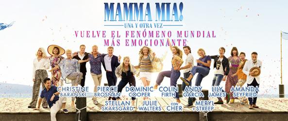 SORTEOS BWW: Te invitamos a ver MAMMA MIA! UNA Y OTRA VEZ