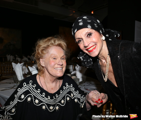Tammy Grimes and Liliane Montevecchi attending 'Love n' Courage' - Theater for the Ne Photo