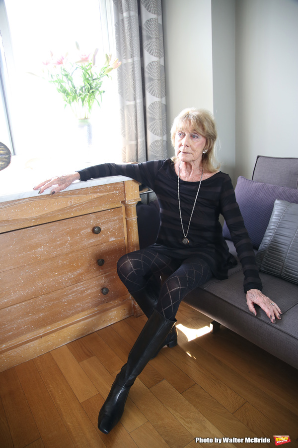 Dame Gillian Lynne at her home on March 10, 2016 in New York City. Photo