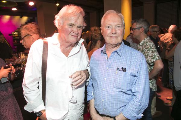 Howard Brenton and Nicholas Wright