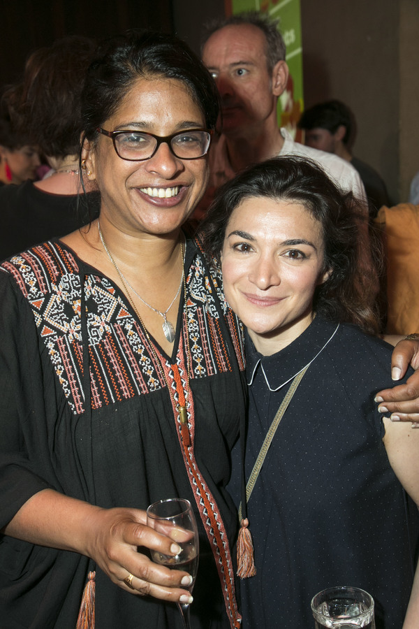 Indhu Rubasingham and Alexis Zegerman
