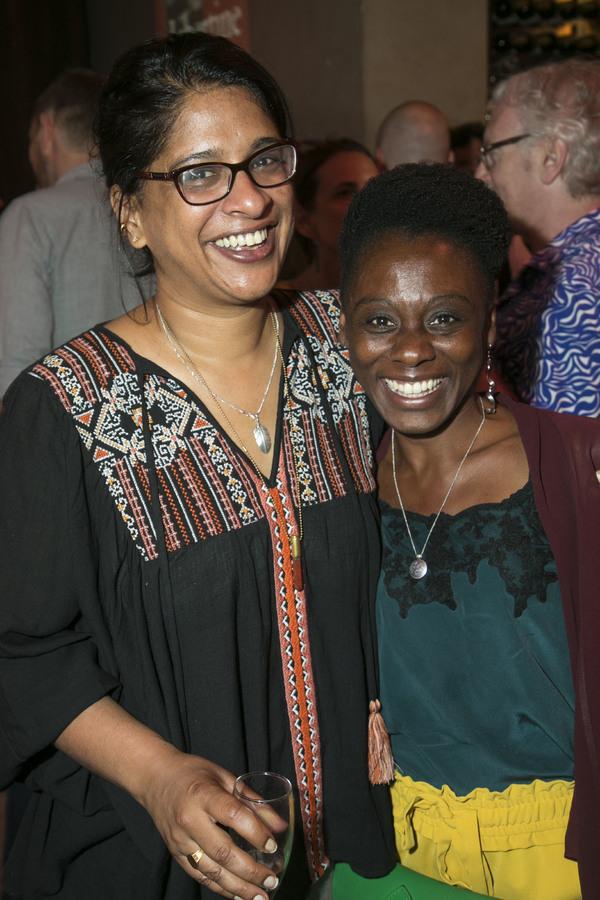 Indhu Rubasingham and Natasha Gordon