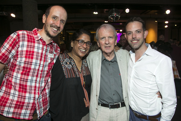 Jack Thorne, Indhu Rubasingham, Nick Hern and Matt Applewhite Photo