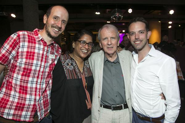 Jack Thorne, Indhu Rubasingham, Nick Hern and Matt Applewhite