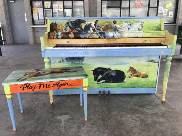 Photo Flash: Public Piano Debuts In Wills Park In Alpharetta On July 15th