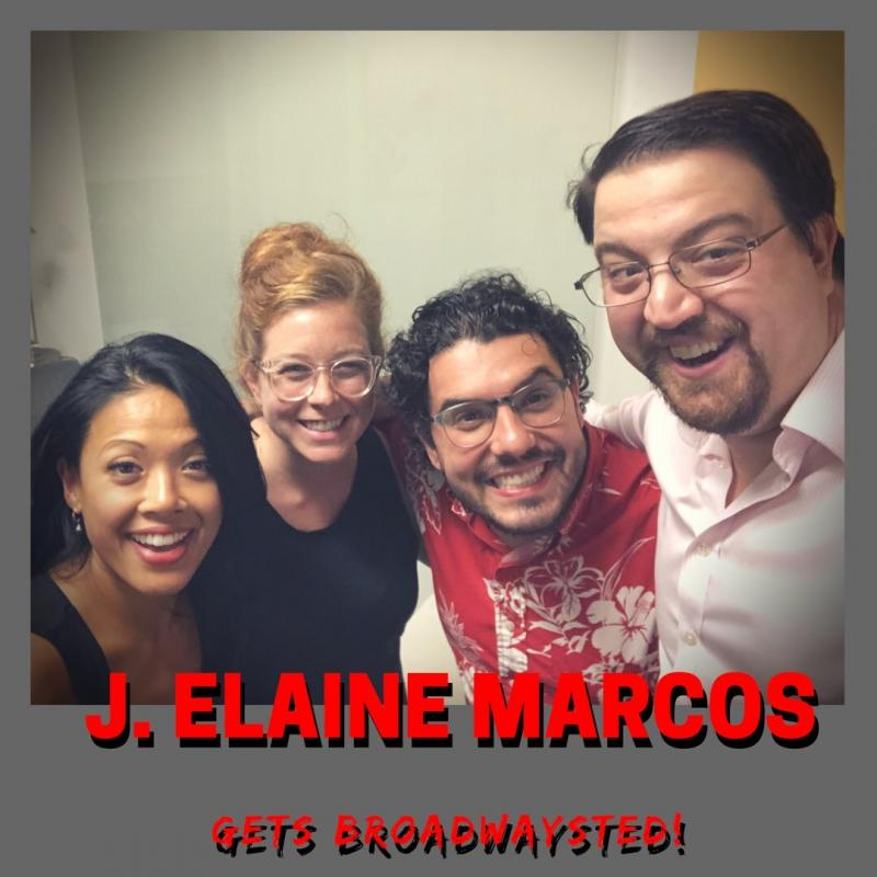 The 'Broadwaysted' Podcast Welcomes GETTIN' THE BAND BACK TOGETHER's J. Elaine Marcos