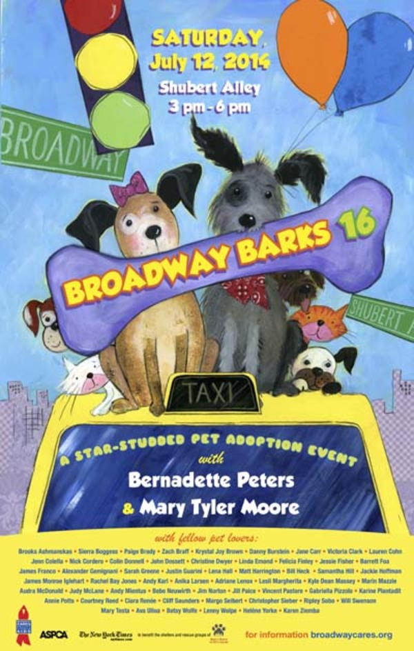 Countdown to Barks: Get Animated with 17 Years of Broadway Barks Posters!