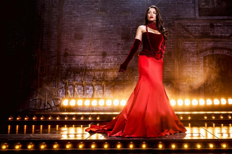 Photo Flash: Get a First Look At Karen Olivo In MOULIN ROUGE!