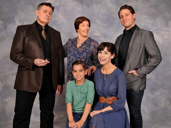 (Standing) Greg North, Tracy Ray Reynolds and Marc Ginsburg; (Sitting) Luke Pryor and Susan Egan