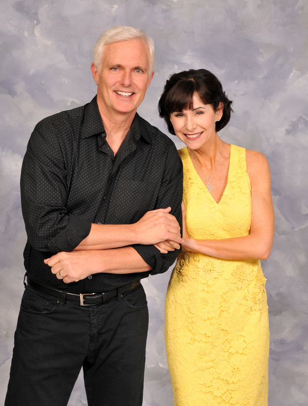 Artistic Director Patrick Cassidy and Susan Egan