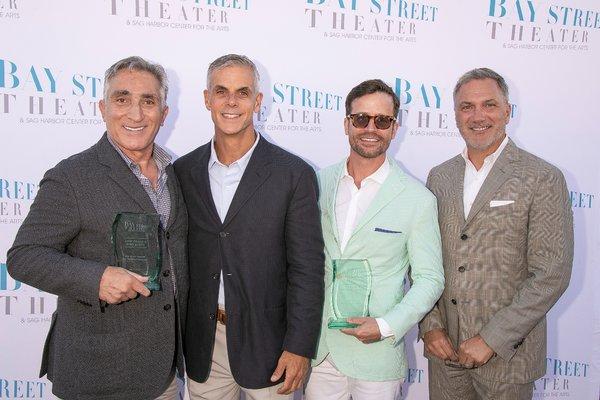 Honorees Luigi Caiola, Sean McGill, Erik Batt, and Daniel Marsili  Photo