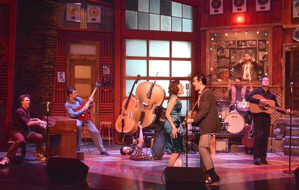 The company of Laguna Playhouse MILLION DOLLAR QUARTET