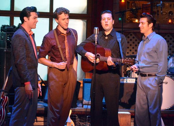 Daniel Durston, Billy Rude, Peter Oyloe and Austin Hohnke Photo