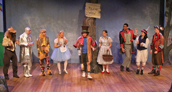 Photo Flash: Cortland Repertory Theatre Presents DOROTHY MEETS ALICE, OR THE WIZARD OF WONDERLAND
