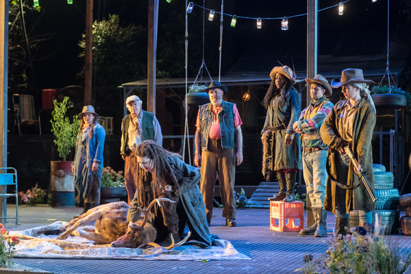 Photo Flash: First Look at Regent's Park Open Air Theatre's AS YOU LIKE IT