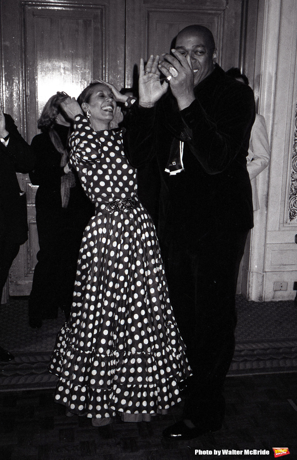 Photo Throwback: Geoffrey Holder and Carmen De Lavallade at a Benefit Party in 1983