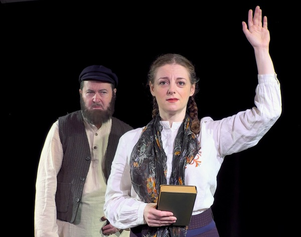 Photo Flash: First Look at TEVYE SERVED RAW