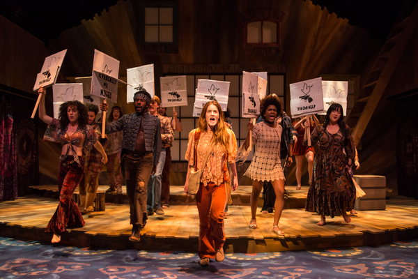 Kayla  Foster and the Company  of  HAIR