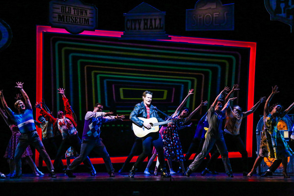 Tim Rogan and the Cast of ALL SHOOK UP Photo