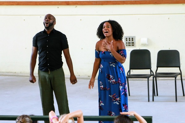 Photo Flash: Danyel Fulton, Douglas Lyons and Ted Arthur Perform at Usdan Summer Camp for the Arts