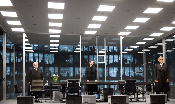Photo Flash: First Look at THE LEHMAN TRILOGY
