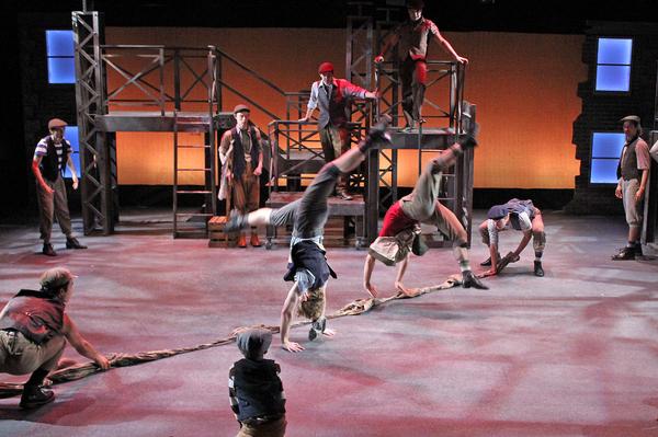 Photo Flash: Cortland Repertory Theatre Presents NEWSIES