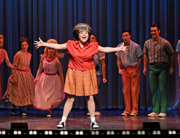 Michelle Dowdy and The Cast of Hairspray Photo