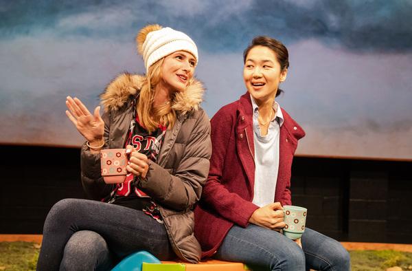 Megan Ketch and Jackie Chung