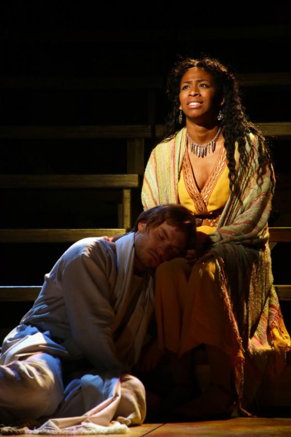 Alex Prakken (Jesus) and Sasha Renee Brown (Mary Magdalene)