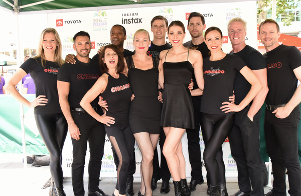 From the Cast of Chicago-Katie Mitchell, Michael Scirrotto, Donna Marie Asbury, Jermaine Rembert, Terra C. MacLeod, Drew Neilessen, Jessica Ernest, Barrett Martin, Beth Johnson Nicely, Brian O'Brien and David Bushman