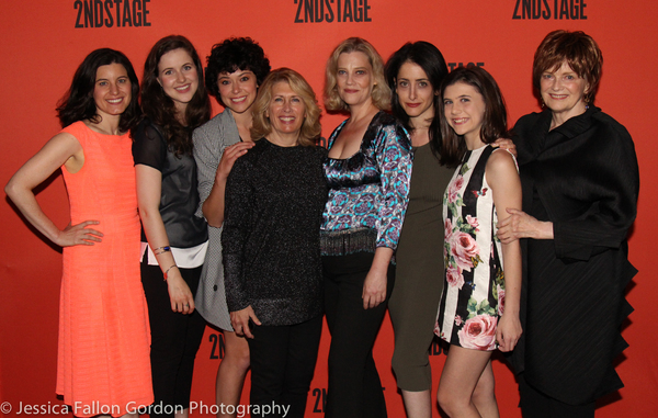Susan Pourfar, Emma Geer, Tatiana Maslany, Carole Rothman, Kellie Overbey, Lila Neugebauer, Mia Sinclair Jenness, and Blair Brown