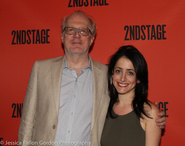 Tracy Letts and Lila Neugebauer