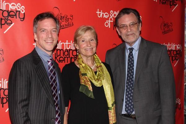 Martin Platt, Rosamund Zander and David Elliott Photo