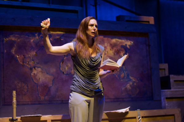 Photo Flash: First Look At Hope Summer Rep's AN ILIAD Starring Emily Trask