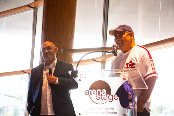 Photos: Arena Stage Opens CUBAN SLUGGER Exhibit