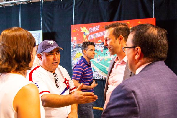 Photo Flash: Arena Stage Opens CUBAN SLUGGER Exhibit