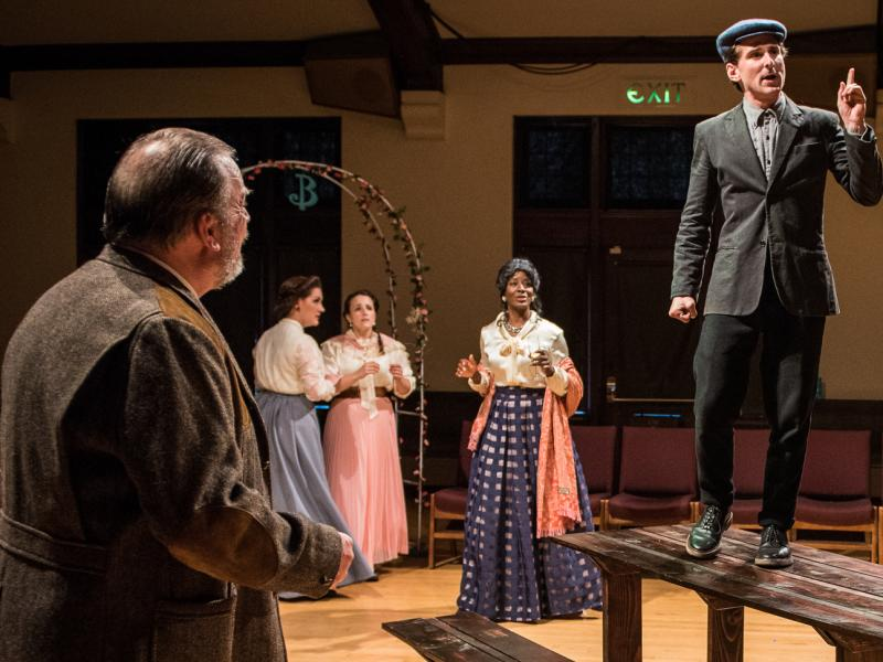 BWW Review: Political Machinations from Theatre9/12's THE LEAGUE OF YOUTH