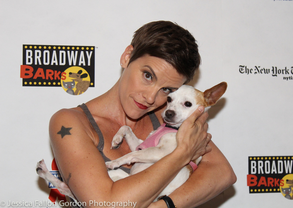 Photo Coverage: The Stars Come Out For Broadway Barks, Hosted by Bernadette Peters and Victor Garber