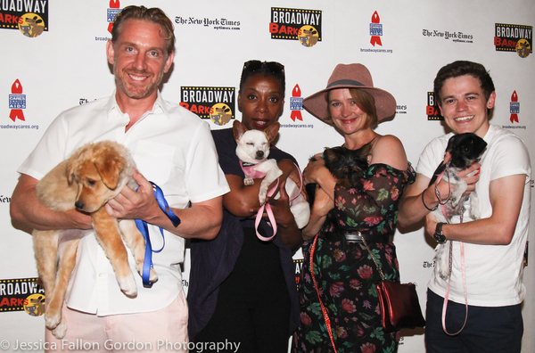 Paul Thornley, Noma Dumezweni, Poppy Miller, and Sam Clemmett Photo