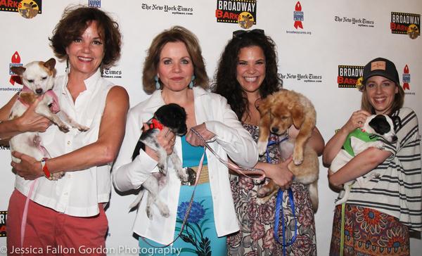 Margaret Colin, Renée Fleming, Lindsay Mendez, and Jessie Mueller
